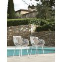 Lot de 2 chaises design Forest, Fast or perlé