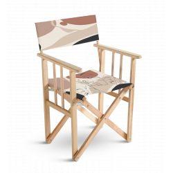 Chaise metteur en scène feuille, collection Terra nova, Pôdevache