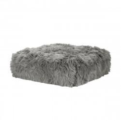 Module pour canapé, taille M, Vetsak fausse fourrure à poil long grise