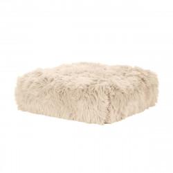 Module pour canapé, taille L, Vetsak fausse fourrure à poil long beige