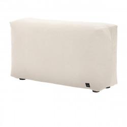 Module vertical pour le canapé Vetsak, velour couleur crème