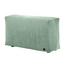 Module vertical pour le canapé Vetsak, velour cotelé vert pâle