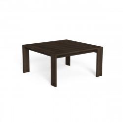 Table à manger Argo, Talenti bois foncé 165x165