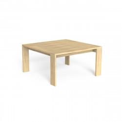 Table à manger Argo, Talenti bois clair 165x165