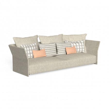 Canapé modulaire, dossier en tissu Cliff, Talenti beige