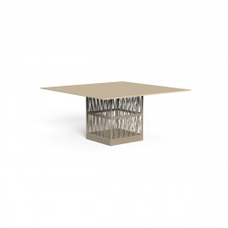 TABLE A MANGER CLIFF 8 PLACES, TALENTI BEIGE