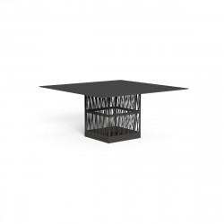 Table à manger Cliff huit places, Talenti gris 150x150