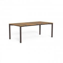 Table à manger Casilda, Talenti moka 200 x 100 cm