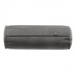 Coussin Noodle pillow 42 x 16 cm, pour canapé Vetsak, velours gris foncé