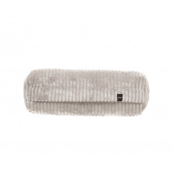 Coussin Noodle pillow 42 x 16 cm, pour canapé Vetsak, velours côtelé platinium