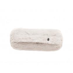Coussin Noodle pillow 42 x 16 cm, pour canapé Vetsak, fausse fourrure beige