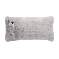 Coussin Pillow 60 x 30 cm, pour canapé Vetsak, fausse fourrure grise