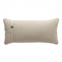 Coussin Pillow 60 x 30 cm outdoor, pour canapé Vetsak, tissu d'extérieur lin platinium
