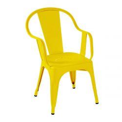 Fauteuil C Brillant, Tolix citron