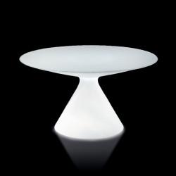 Table lumineuse Ed, Slide Design blanc