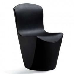 Chaise Zoe, Slide Design noir