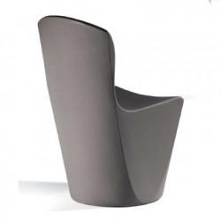 Chaise Zoe, Slide Design gris