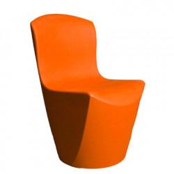Chaise Zoe, Slide Design orange