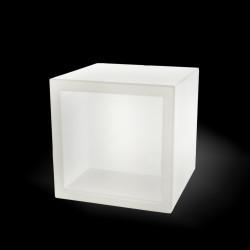Cube lumineux Open Cube, Slide Design blanc