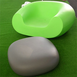 Table basse Chubby Low, Slide Design gris