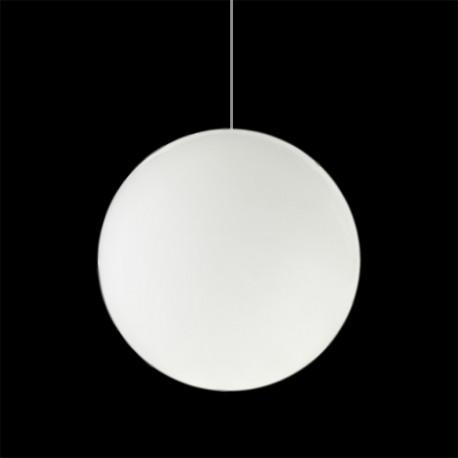Lampe Globo Hanging Out, Slide Design blanc Diamètre 70 cm