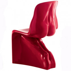 Chaise HER Casamania rouge laqué