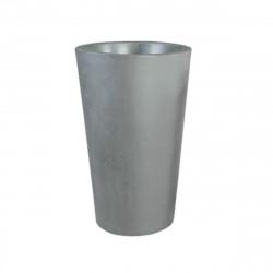 Grand X-pot gris, Slide Design gris Hauteur 135 cm