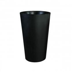 Grand X-pot noir, Slide Design noir Hauteur 83 cm