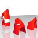 Chaise Amélie, Slide Design blanc