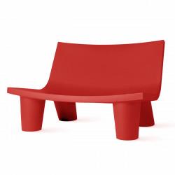 Fauteuil 2 places Low Lita Love, Slide Design rouge