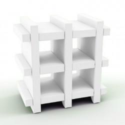 Etagère Booky Small Slide blanc