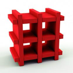 Etagère Booky Small Slide rouge