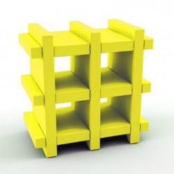 Etagère Booky Small Slide jaune