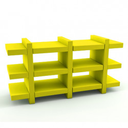 Etagère Booky Médium Slide jaune