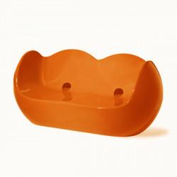 Canapé 2 places Blossy, Slide Design orange