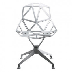 Chaise design One étoile pivotante Magis blanc