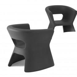 Fauteuil design Pal, Vondom gris