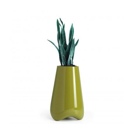 Pot de Jardin Vlek diamètre 45 cm, Vondom vert laqué Laqué