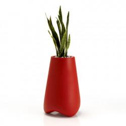 Pot de jardin Vlek diamètre 55 cm, Vondom rouge Mat