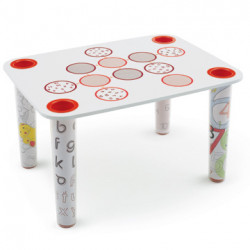 Table Little Flare Circle, Magis Me Too blanc