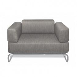 S5001 Fauteuil design Thonet gris