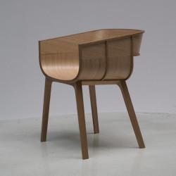 Chaise design Maritime, Casamania bois naturel