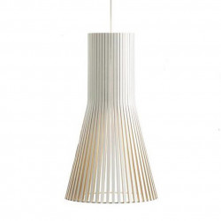 Suspension design Secto 4201, Secto Design, blanc, hauteur 45 cm
