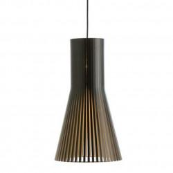 Suspension design Secto 4200, Secto Design, noir, hauteur 60 cm
