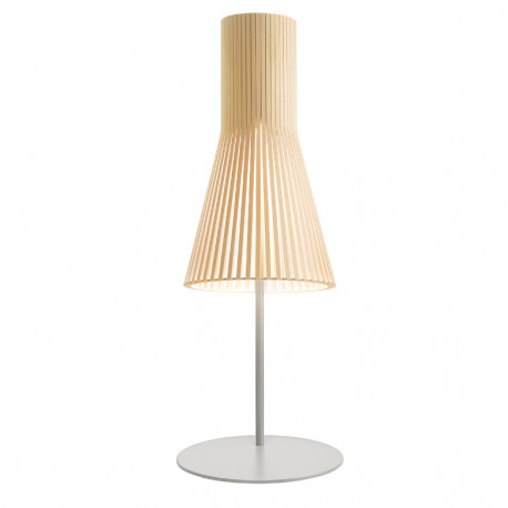 Lampe à poser Secto 4220, Secto design bois naturel