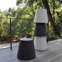 Ali Baba, tabouret design, Slide Design blanc