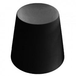 Ali Baba, tabouret design, Slide Design noir, hauteur d\'assise 43 cm