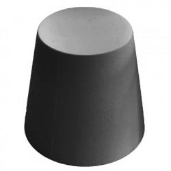 Ali Baba, tabouret design, Slide Design gris, hauteur d\'assise 43 cm