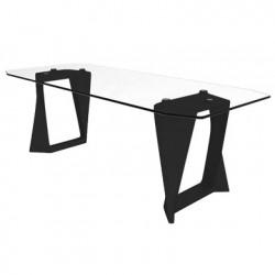 Table Iso, Qui est paul ? noir L220cm