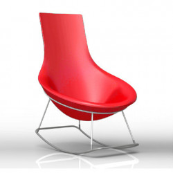 Rocking Chair Tom Yam, Qui est Paul? rouge